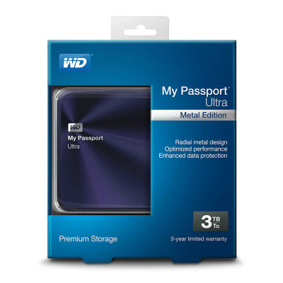 Ổ cứng wd passport ultra metal 3tb wdbezw0030bba