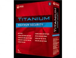 Trend micro titanium maximum security 2012 (1PC-1Y)