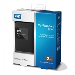 Ổ cứng wd my passport ultra 3tb wdbbkd0030bbk black