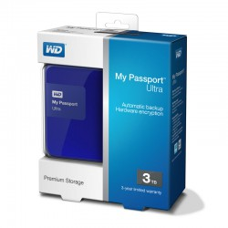 Ổ cứng wd my passport ultra 3tb wdbbkd0030bbl blue