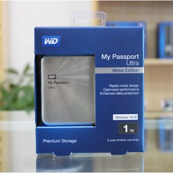 Ổ cứng wd passport ultra metal 1tb wdbtyh0010bcg