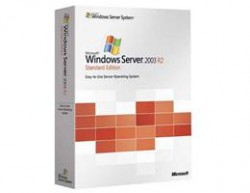 Windows Svr Std 2003 R2 w/SP2 WIN32 English 1PK DSP OEM CD 1-4CPU 5Clt ( )